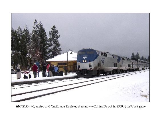 Depot in Snow